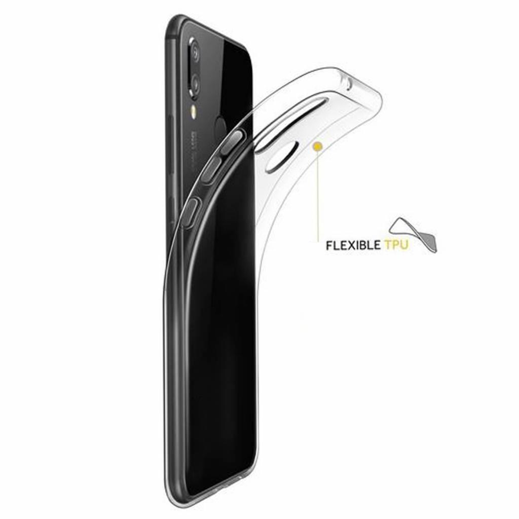 Clear Silicone Case Galaxy A01