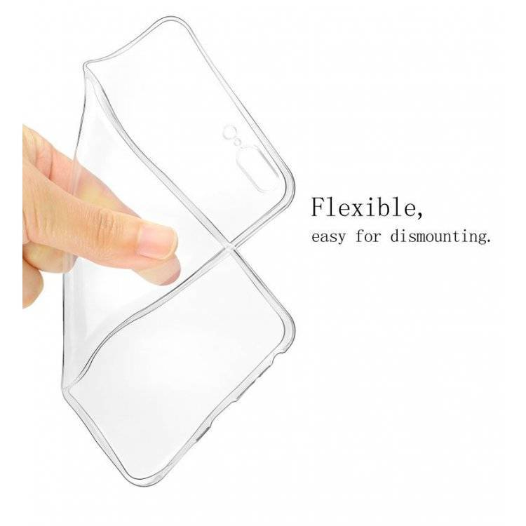 Clear Silicone Case Galaxy Note 10 Lite