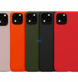 Luxe Silicone Case For I-Phone 11 Pro Max