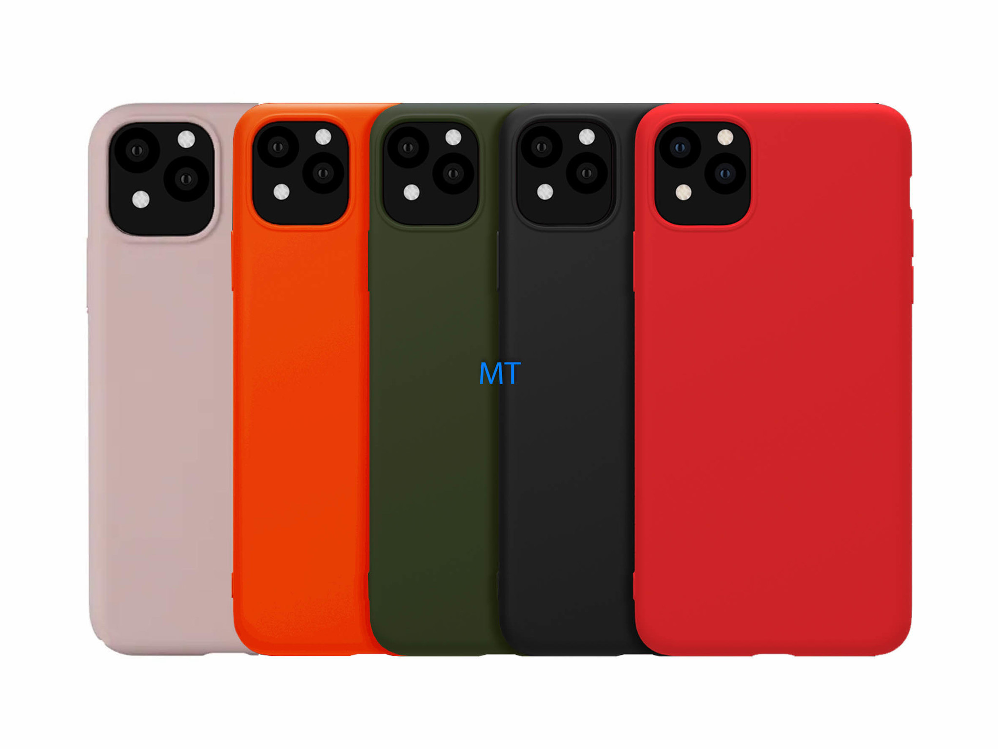 Luxe Silicone Case For I-Phone 11 Pro
