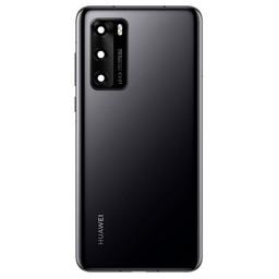 Huawei P40 Back Cover Deksel Black