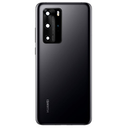 Huawei P40 Pro Back Cover Deksel Black