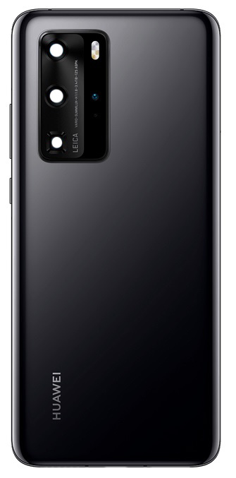 Huawei P40 Pro Back Cover Deksel Black