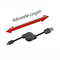 Length Adjust Cable  USB to Micro