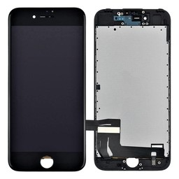 Premium Plus LCD & Touch For I-Phone 7 Black Plate & Sticker