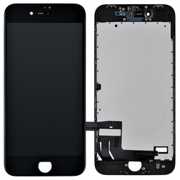 Premium Plus LCD & Touch For I-Phone 8 Back Plate & Sticker