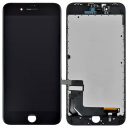 Premium Plus LCD & Touch For I-Phone 8 Plus  Back Plate & Sticker