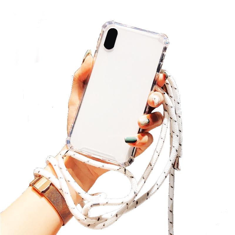 Cross Sholder Case For I-Phone 12 Pro Max  6,7''