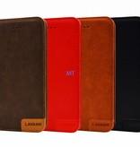 Lavann Lavann Leather Bookcase Huwai P40 Pro