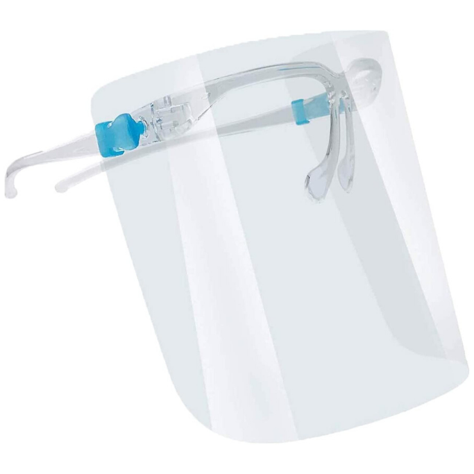 Protection Face Shield with glasses frame