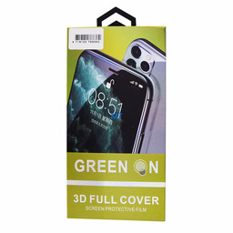 GREEN ON  Pro 3D Glass  Green ON  For I-Phone SE 2nd