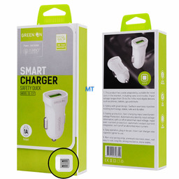 GREEN ON  GREEN ON Smart USB Micro Car Charger (DL-C17)