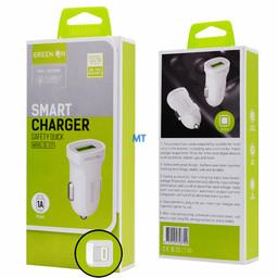 GREEN ON  GREEN ON Smart USB Lightning Car Charger DL-C17