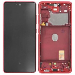 LCD SAMSUNG GALAXY FAN EDITION S20 FN G780F CLOUD RED GH82-24219E