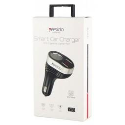Yesido USB Smart  Car Charger Y33