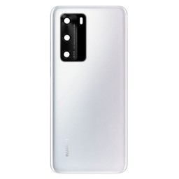 Huawei P40 Back Cover Deksel Ice White