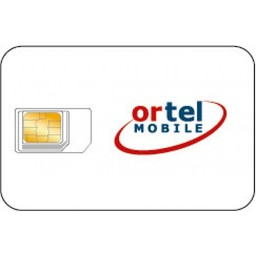 Ortel Mobile Sim card  NL