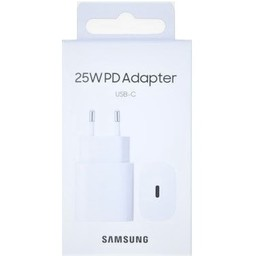 USB-C Samsung 25W PD Adapter Super Fast Charging 3.0A White EP-TA800