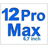 For I-Phone 12 Pro Max 6,5 inch