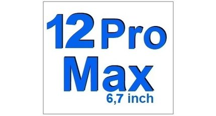 For I-Phone 12 Pro Max 6.5 inch