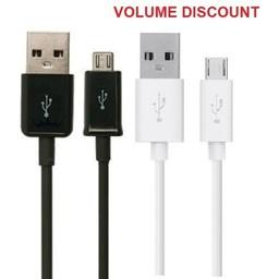1M Samsung Micro USB Data Cable  ECB-DU4AWE White