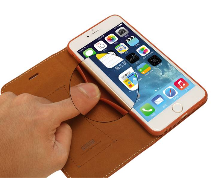 reputable site f9d53 cde7d Xundo Book Case iPhone 6 Plus - MTimpex.com