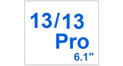 For I-Phone 13 / 13 Pro 6.1 inch
