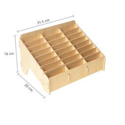 24 Grid Cellphone Storage Box