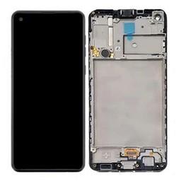 LCD Samsung   A21s  A217 Display GH82-22988A Black Service Pack