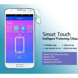 Galaxy Alpha G850 Quick/Smart Touch Glass Protector