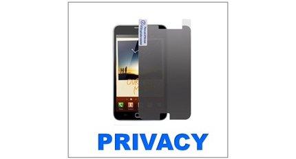 Privatsphäre des Bildschirmschutzes