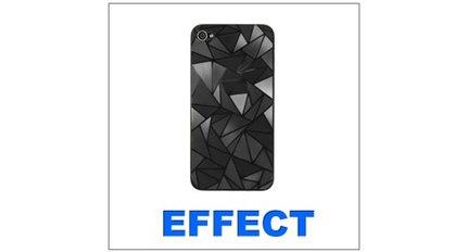 Displayschutz-Effekt