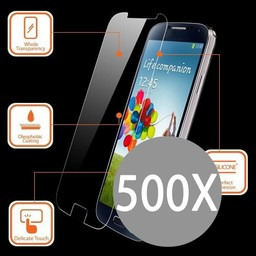 500X IPhone 5/5S Tempered Glass Protector