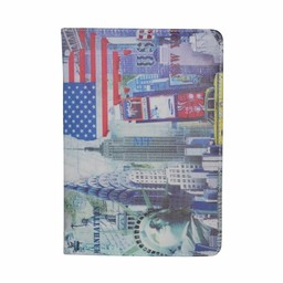 New York Statue Universal Case 360 Rotation (9 Inch)