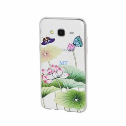 Print Silicone Case Green Galaxy A3 (A300F)