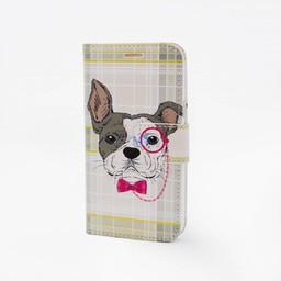 Glasses Dog Print Case Galaxy J7 2016 (J720F)