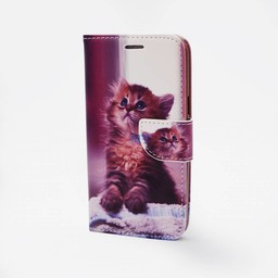 Kitty Print Case Galaxy J7 (J700F)