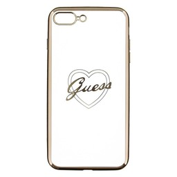 Guess Silicone Case Heart Iphone 7