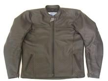 MJK Leathers Twin Tone Cool Vent Doorwaai Jas Leder