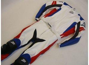 MJK Leathers Spirit of Race Tweedelig Leren Motorpak