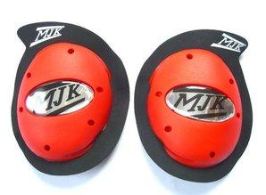 Betac Rode Kneesliders Betac-MJK Leathers