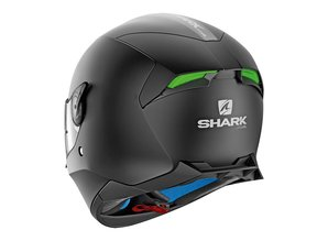 Shark Skwal 2 LED Blank Mat Integraal Motorhelm