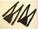 MJK Leathers MJK Bretelset Leer of Textiel