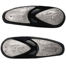 Alpinestars Vervangingsset Teen sliders van Magnesium