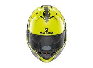 Shark Evo-One 2 Keenser YKA geel-zwart-antraciet Systeem Motorhelm