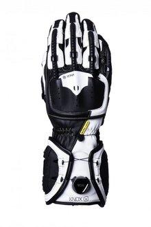 Knox Handroid Racehandschoenen zwart/wit