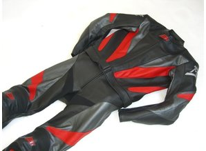 MJK Leathers Steel Leren Combipak voor Heren