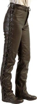 MJK Leathers Dames Easy-Rider Style motorbroek Opruiming