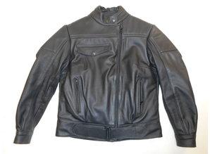 "MJK Leathers  ""Snuffelrek"" Opruiming Zwart Leren Dames Motorjacks"