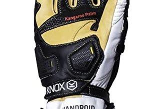 Knox Handroid Motorhandschoenen Race Zwart